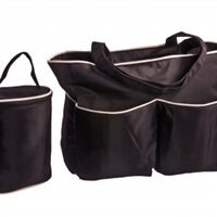 hygeia deluxe tote and cooler set