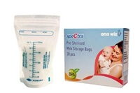 spectra breastmilk collection bags