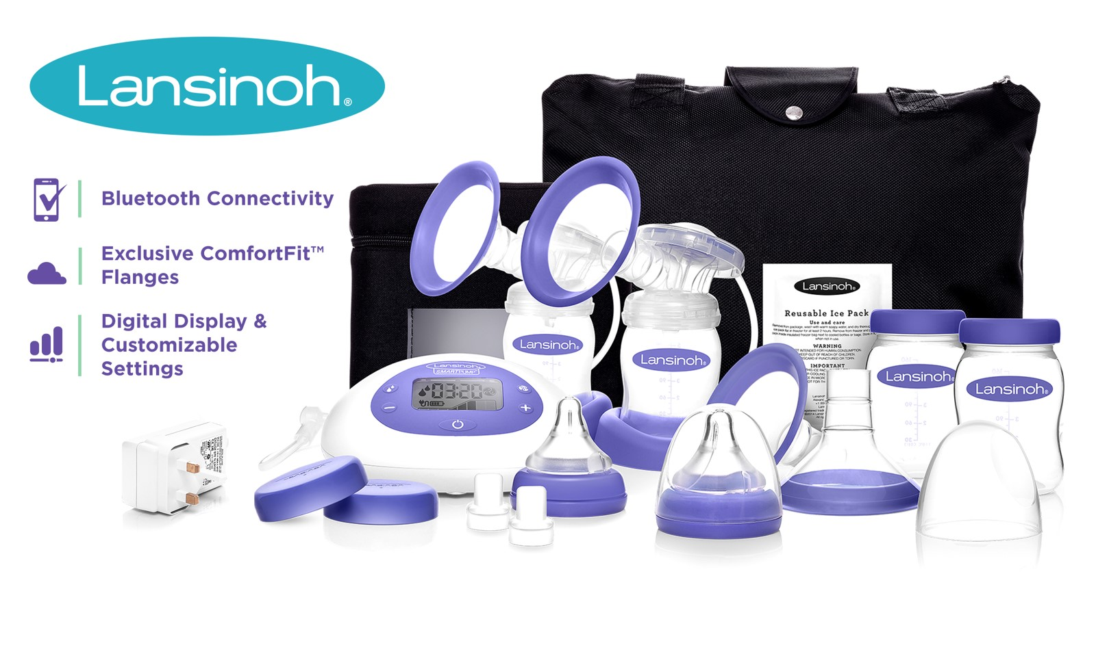 Lansinoh Smartpump Deluxe Breast Pump Insurance Covered Insurance Covered
