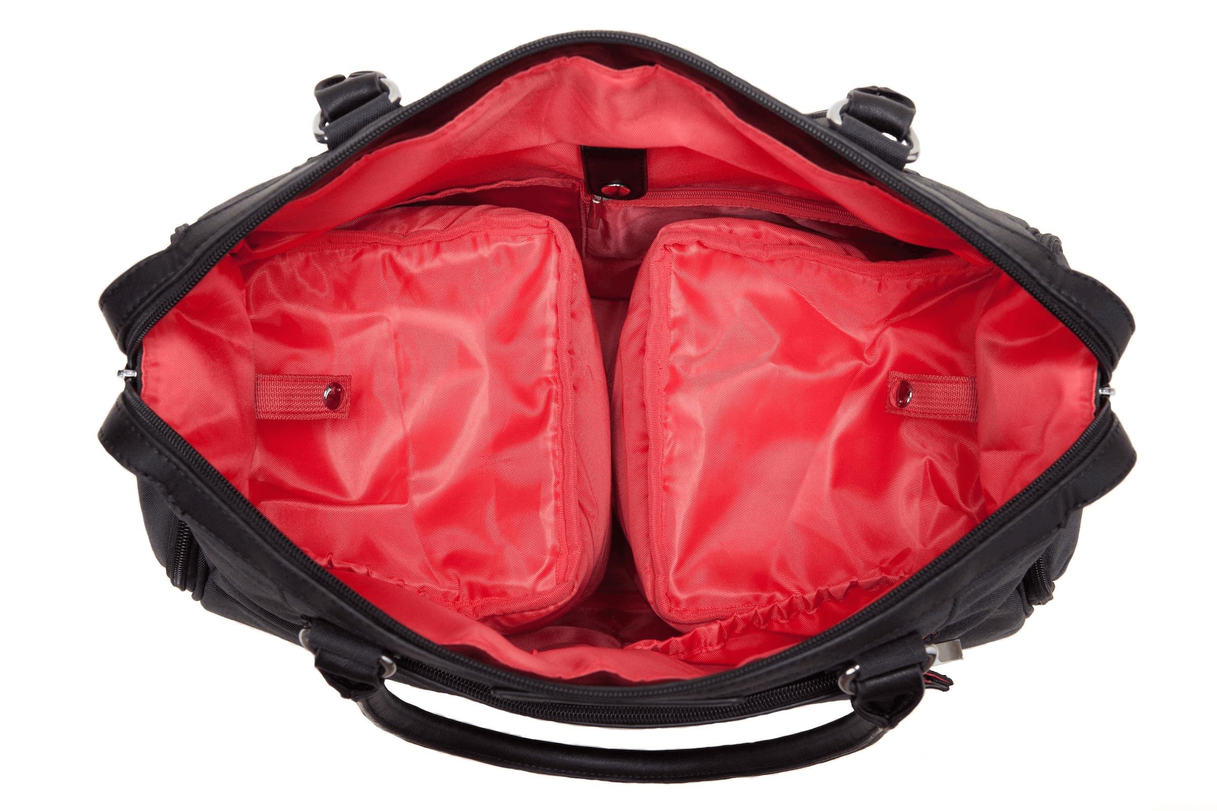 Sarah Wells Claire Black T Pump Bag