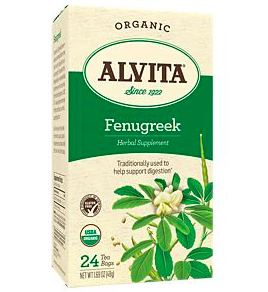 Fenugreek in both pill and tea form is known to help boost milk supply