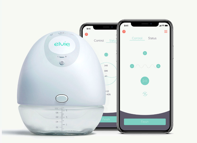 Introducing the Elvie Breast Pump