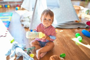 Try easing into daycare with a few shorter days to make the transition easier on you and your baby